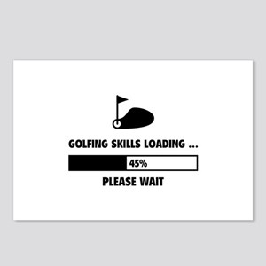 Golfing Skills Loading Postcards (Package of 8)