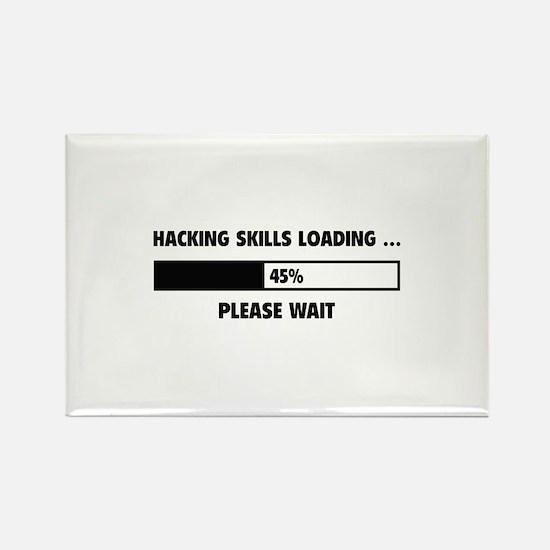 Hacking Skills Loading Rectangle Magnet (10 pack)