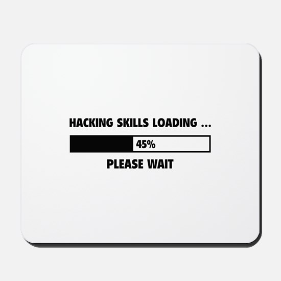 Hacking Skills Loading Mousepad