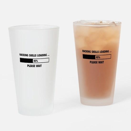 Hacking Skills Loading Drinking Glass