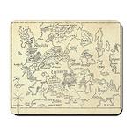 Map of Raine Benaress world Mousepad