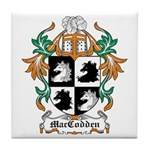 MacCodden Coat of Arms Tile Coaster