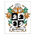 MacCodden Coat of Arms Small Poster