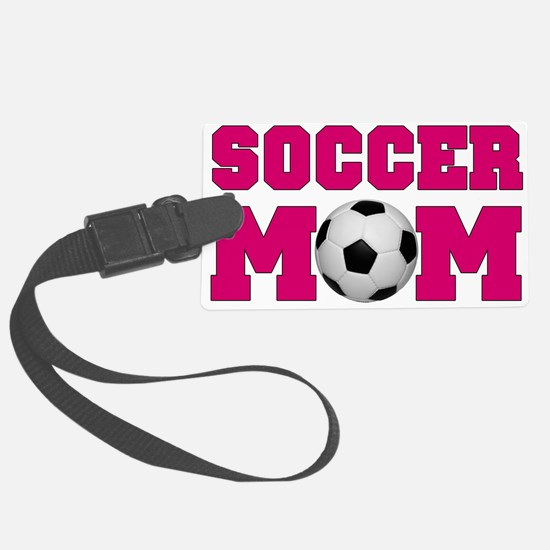 SoccerMom_HotPink.png Luggage Tag