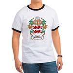 MacClancy Coat of Arms Ringer T