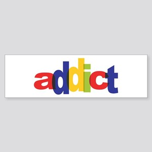 online auction addict Bumper Sticker