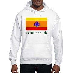 Bassam's Rainbow Lebanese Flag Hoodie