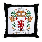 MacCartron Coat of Arms Throw Pillow