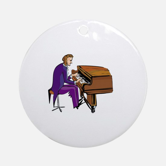 Piano Ornament (Round)
