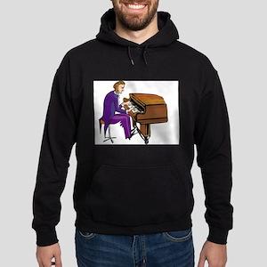 Piano Hoodie (dark)