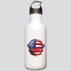 US Womens Soccer Stainless Water Bottle 1.0L