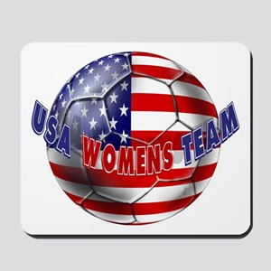 US Womens Soccer Mousepad