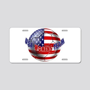 US Womens Soccer Aluminum License Plate