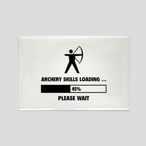 Archery Skills Loading Rectangle Magnet