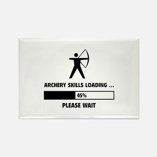 Archery Skills Loading Rectangle Magnet