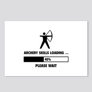 Archery Skills Loading Postcards (Package of 8)
