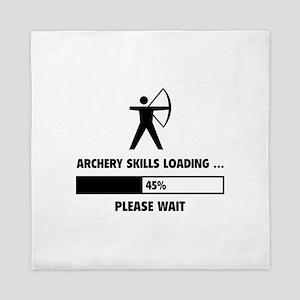 Archery Skills Loading Queen Duvet