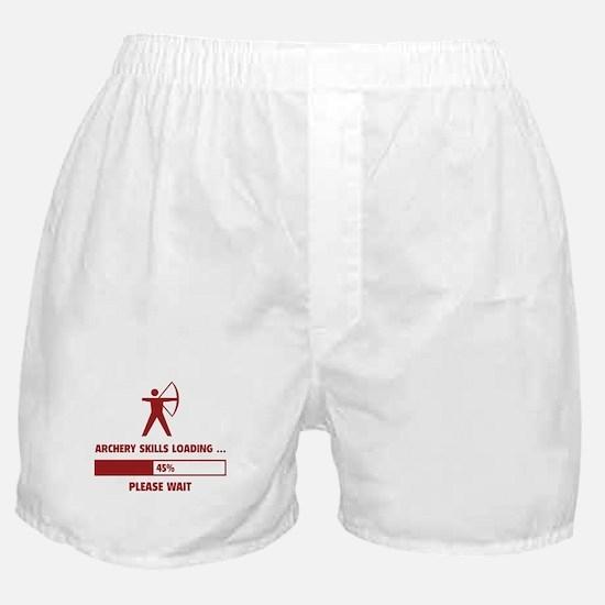 Archery Skills Loading Boxer Shorts