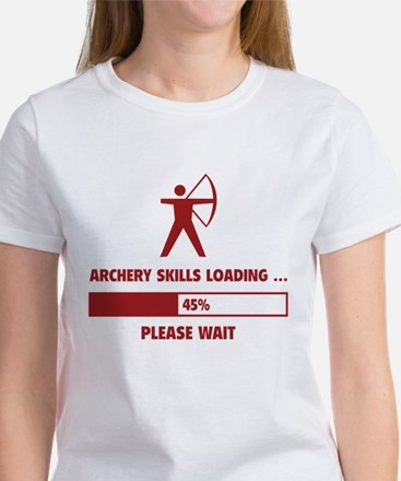 Archery Skills Loading Women's T-Shirt