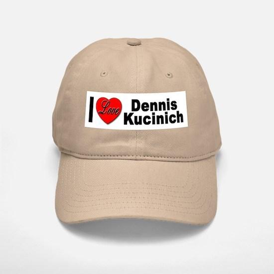 I Love Dennis Kucinich Baseball Baseball Cap