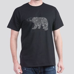 Celtic Polar Bear Dark T-Shirt