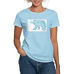Celtic Polar Bear Women's Light T-Shirt