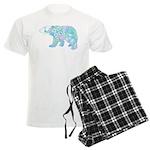 Celtic Polar Bear Men's Light Pajamas