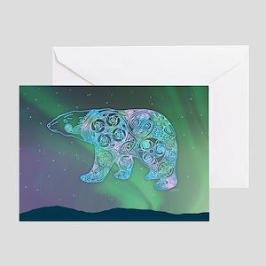 Celtic Polar Bear Greeting Card