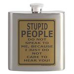 Stupid People Do Not Speak... Flask