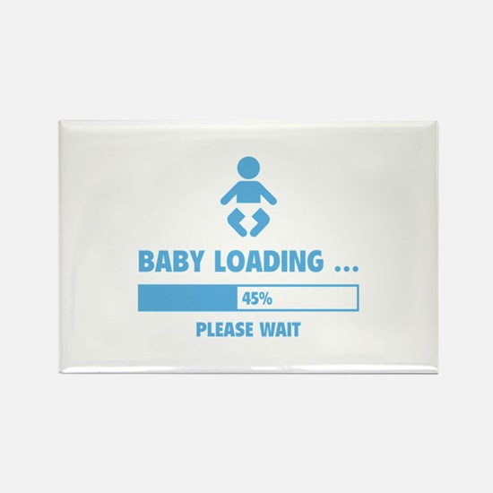 Baby Loading Rectangle Magnet