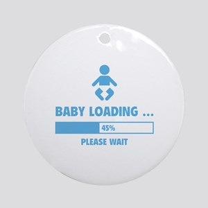 Baby Loading Ornament (Round)
