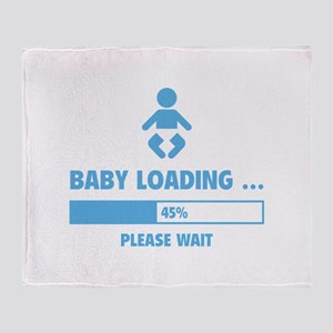 Baby Loading Throw Blanket