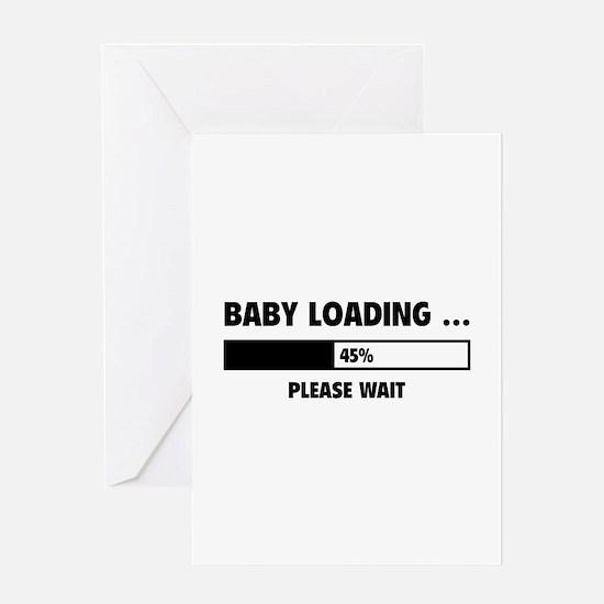 Baby Loading Greeting Card