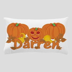Halloween Pumpkin Darren Pillow Case