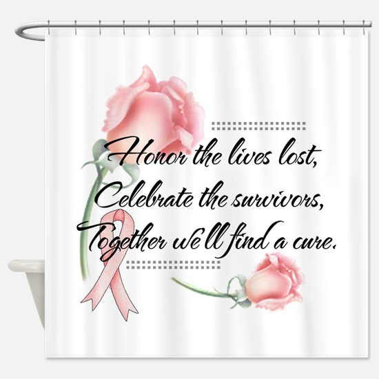 Honor the lives lost.png Shower Curtain