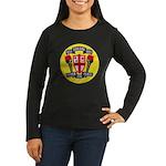 USS JOHN KING Women's Long Sleeve Dark T-Shirt