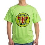 USS JOHN KING Green T-Shirt