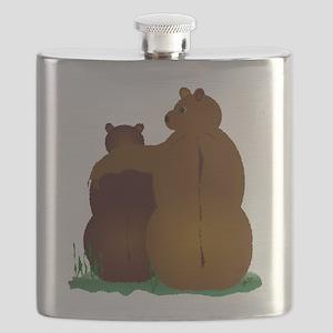 Warm & Fuzzy Bear Hug Flask
