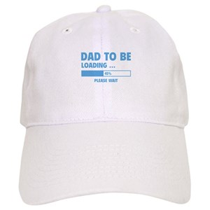 87c6342a9aca8 Dad To Be Loading Hats - CafePress