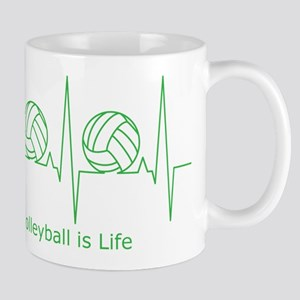 Volleyball is Life Mug