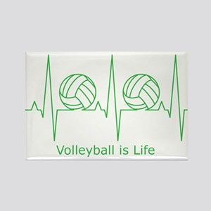 Volleyball is Life Rectangle Magnet