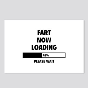 Fart Now Loading Postcards (Package of 8)