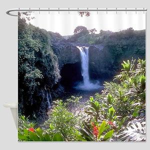 Lush Hawaii Shower Curtain