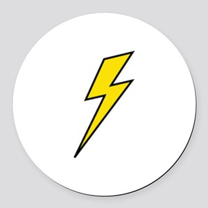 Lightning Round Car Magnet