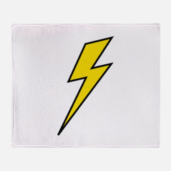 Lightning Throw Blanket