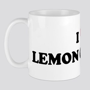I Love LEMON COVE Mug
