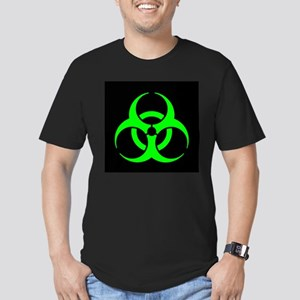 Biohazard Men's Fitted T-Shirt (dark)