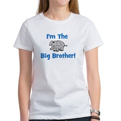 I'm The Big Brother (elephant Women's T-Shirt
