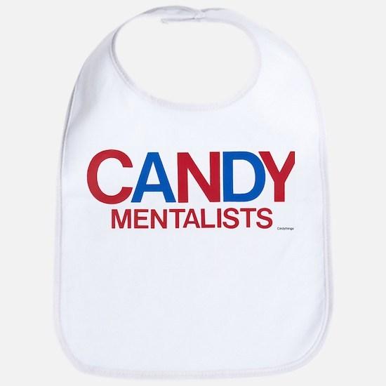 Candy Logo (red/blu) Bib