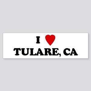I Love TULARE Bumper Sticker